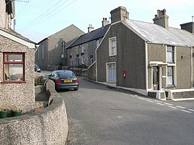 Terrace Houses in Pencarnisiog, Anglesey - geograph.org.uk - 123067.jpg