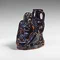 Terracotta askos (flask with a spout and handle) MET DP134920.jpg