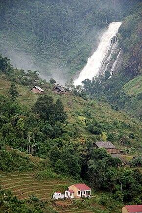 Cascata di Argento, Sa Pa, Lào Cai