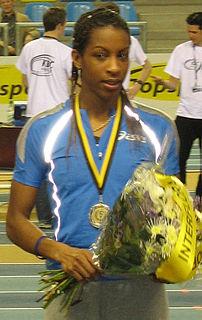 Thélia Sigère French sprinter