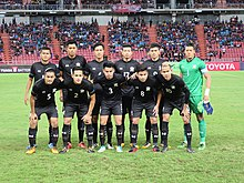 Thailand national team during King s Cup 2017 393442d37