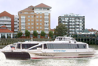 Thames Clippers - Hurricane Clipper