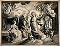 The Annunciation to the Virgin. Engraving by N. de Bruyn, 16 Wellcome V0048950.jpg