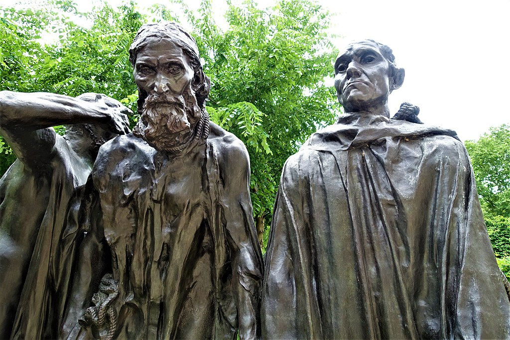 The Burghers of Calais - www.joyofmuseums.com - Rodin Museum, Philadelphia 3