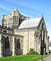 The Central Tower of Bangor Cathedral - geograph.org.uk - 245904.jpg