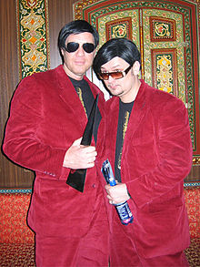 The Disco Boys at the Dance Music Award ceremony 2005 in Hannover
