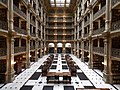 The George Peabody Library in Baltimore.jpg