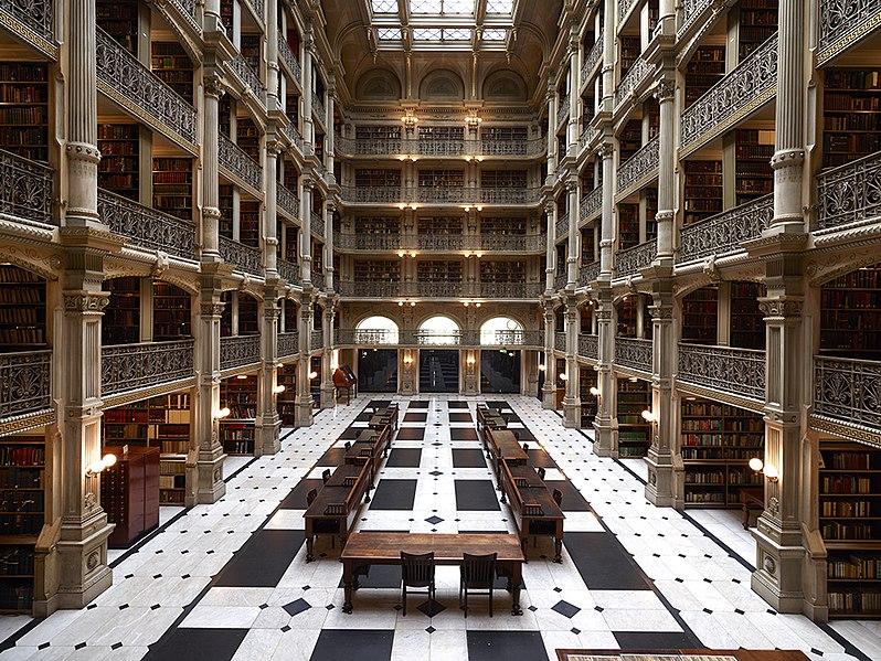 Bibliotecas para visitar nos Estado Unidos