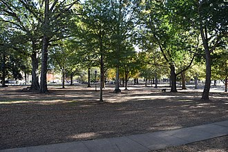 The Grove (Ole Miss) - The Grove in fall