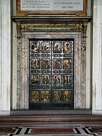 Puerta Santa. Basílica de San Pedro Vaticano
