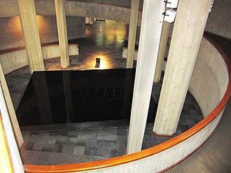 Tehran Museum of Contemporary Art - Spiraling walkway