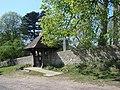 The Lychgate, All Saints Church, Pickhill. - geograph.org.uk - 419957.jpg