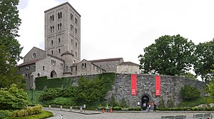 The Cloisters - View from the main entrance