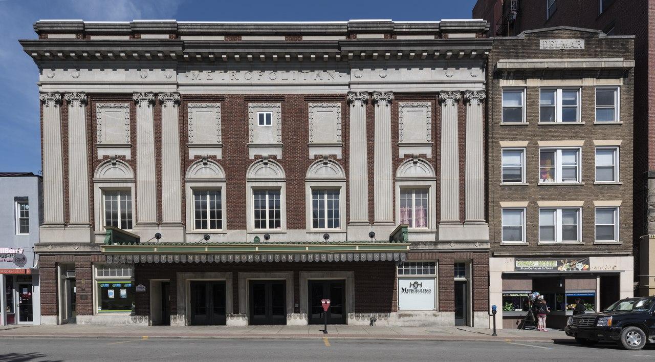 file the metropolitan theater building in morgantown west. Black Bedroom Furniture Sets. Home Design Ideas