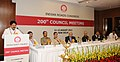 The Minister of State for Road Transport & Highways, Shri Sarvey Sathyanarayana addressing the 200th Mid-Term Council Meeting of Indian Roads Congress, in New Delhi on August 11, 2013.jpg