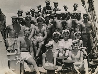 British Empire in World War II - Kenya Royal Naval Volunteer Reserve 1945