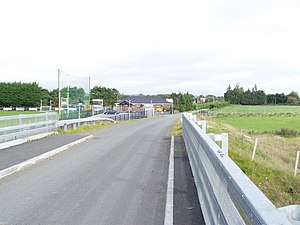 Maghery - New bridge at Maghery, 2007