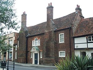 Royston, Hertfordshire - King James' Palace, Royston