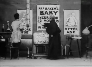 <i>An Over-Incubated Baby</i> 1901 film by Walter R. Booth
