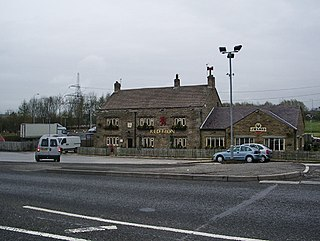 Whitebirk area on the boundary of Hyndburn and Blackburn with Darwen, Lancashire, UK