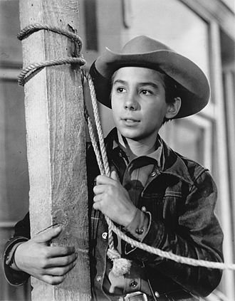 Johnny Crawford - Johnny Crawford in The Rifleman (1961)