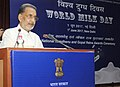 "The Union Minister for Agriculture and Farmers Welfare, Shri Radha Mohan Singh addressing at the ""World Milk Day"" celebration, organised by the Department of Animal Husbandry & Fisheries, in New Delhi on June 01, 2017.jpg"