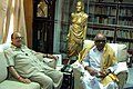 The Union Minister for Human Resource Development, Shri Arjun Singh calling on the Chief Minister of Tamil Nadu Dr. M. Karunanidhi, in Chennai on May 28, 2008.jpg