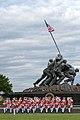 The United States Marine Drum and Bugle Corps Arlington VA 2012.jpg