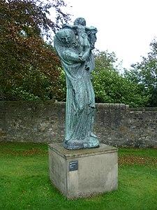 The Virgin Of Alsace by Emile-Antoine Bourdelle