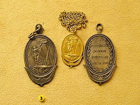 The battles of Fredrikshamn and Svenskund, medals for valor, 1790, by C. G. Fehrman - National Museum of Finland - DSC04107.JPG