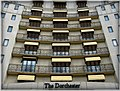 The beautiful Dorchester Hotel in London Mayfair, England United Kingdom. One of the most recognized and luxurious hotels on the planet. Enjoy! ) (4579939066).jpg