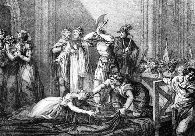 FileThe Execution Of Mary Queen Of Scots Engravingjpg