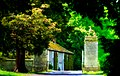 The gates at Woodleigh School Langton North Yorkshire.jpg