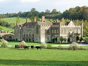Anthony Keck - Image: The grounds of Flaxley Abbey geograph.org.uk 267981