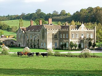 Flaxley - Flaxley Abbey.
