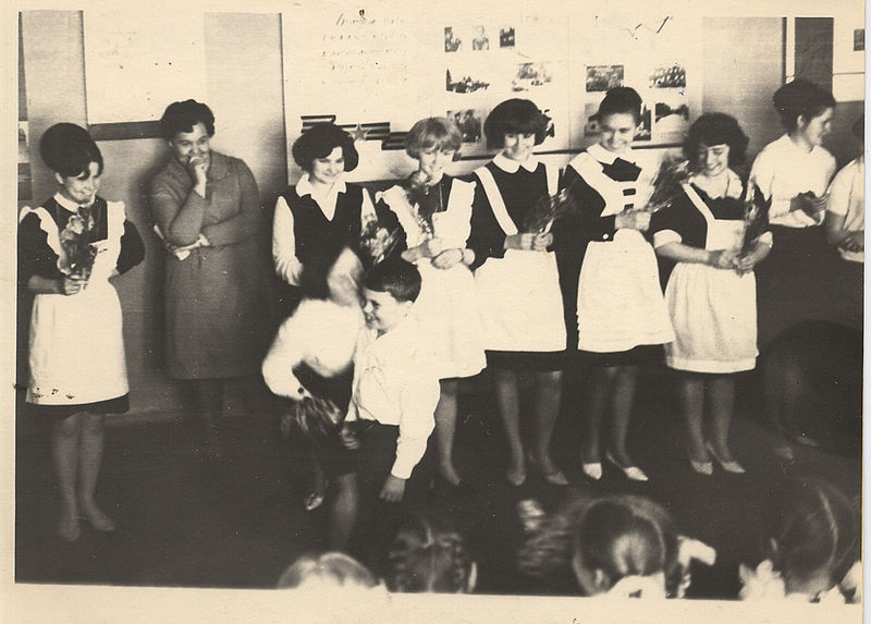 File:The last bell at school USSR circa 1970.jpg