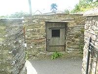 The village lock-up, Brompton Regis (geograph 3608250).jpg