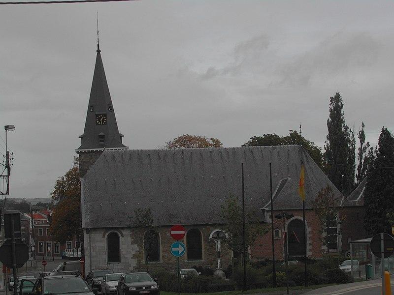 "Kirche ""St. Antonius der Einsiedler"" in Thimister (Thimister-Clermont)"
