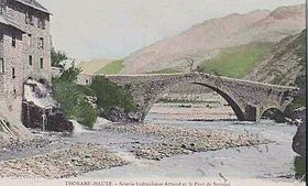 image illustrative de l'article Pont du Moulin (Thorame-Haute)
