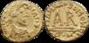 Tiers de sou de Théodebert II frappé à Clermont