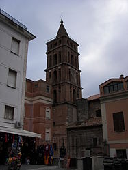Tivoli church tower 2.jpg
