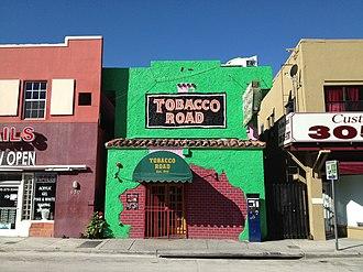 Tobacco Road (bar) - Image: Tobacco Road bar Miami 2012