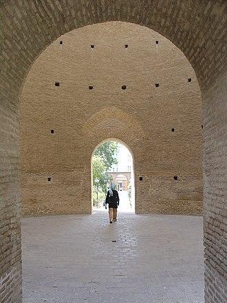 Tughrul Tower - Image: Toghrol Tower portal