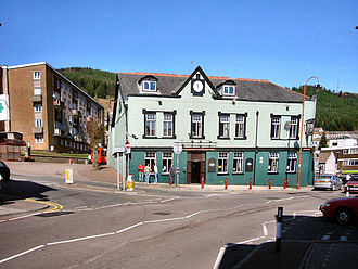 Tonypandy - Image: Tonypandy Square in 2007
