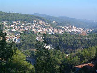 Torrelles de Llobregat - View over Torrelles de Llobregat