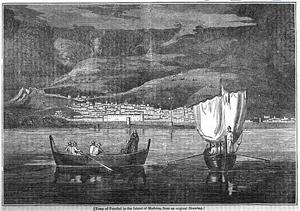 TownOfFunchal,InMadeira,1834.PNG