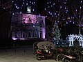 Town hall of Ixelles, December 2019 (night) -2.jpg