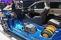 Toyota Mirai fuel cell stack and hydrogen tank SAO 2016 9037.jpg