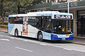 Transport NSW liveried (2601 ST), operated by Sydney Buses, Bustech VST bodied Scania K280UB on Loftus Street in Circular Quay (2).jpg