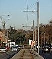 Travaux de la branche vers Vieux-Condé de la ligne B du tramway de Valenciennes en décembre 2013 (272).JPG
